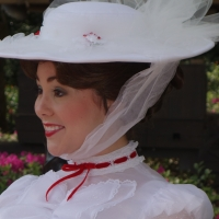 Mary Poppins at United Kingdom in Epcot