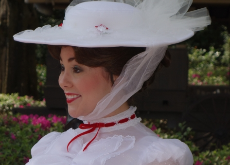 Mary Poppins at United Kingdom in Epcot 2013