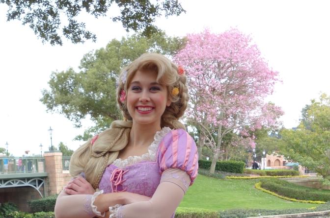 Magic Kingdom Female Character Touring Plan Extra Magic Hour