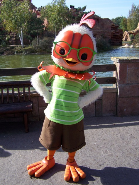 Disneyland Paris, Frontierland, Character Meet and Greet, Chicken Little