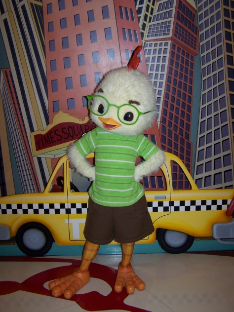 Disneyland Paris, Walt Disney Studios, Character Meet and Greet, Chicken Little