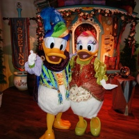 A rare Donald and Daisy photo and other fun at Pete's Silly Sideshow