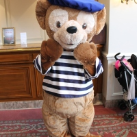 Worldwide Wednesdays - meeting Duffy at Disneyland Paris