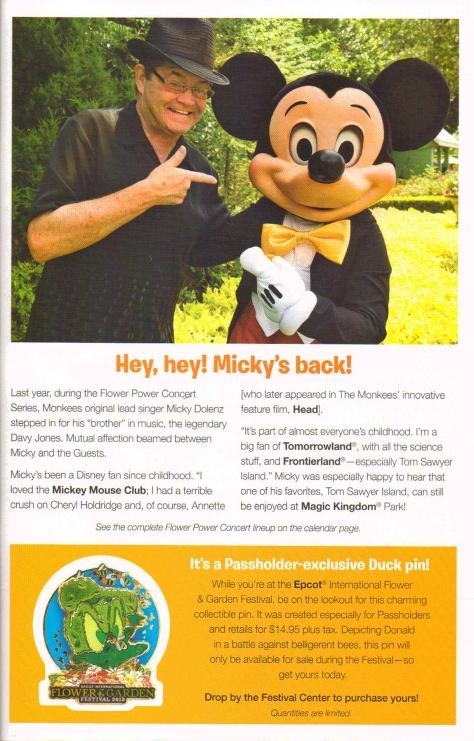 Mickey Monitor Spring 20137
