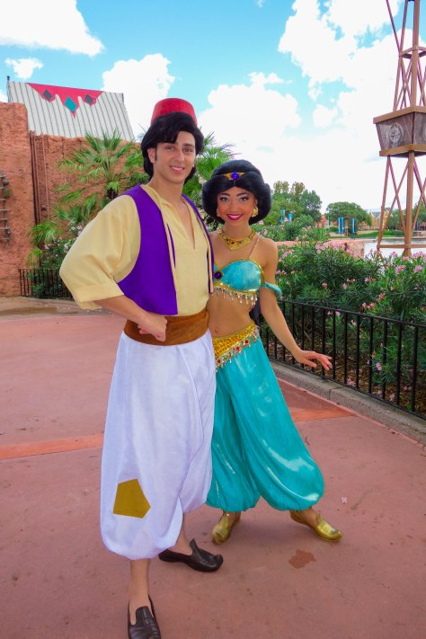 meet aladdin and jasmine