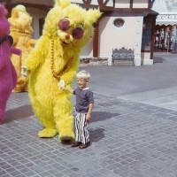 Vintage Walt Disney World Characters from 1971 including Hit Cat and Gus!