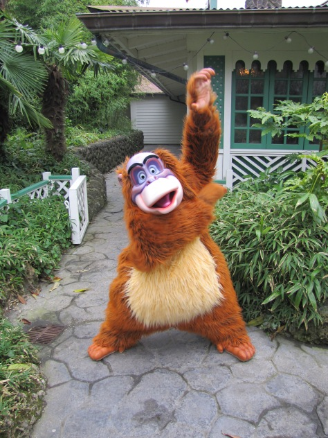 King Louie can be found most of the time in Adventureland.