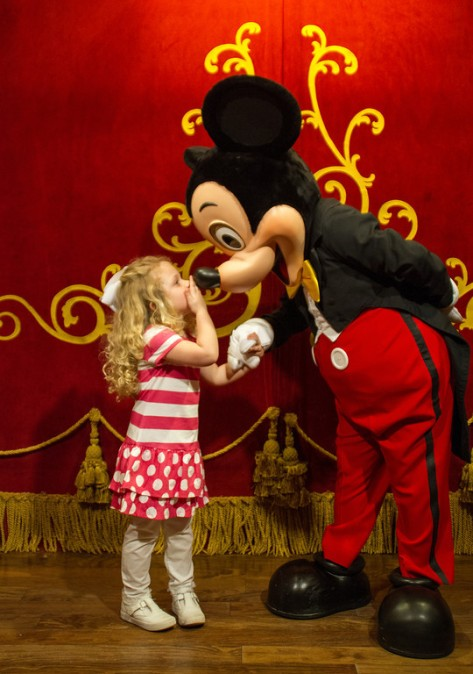 sharing with mickey