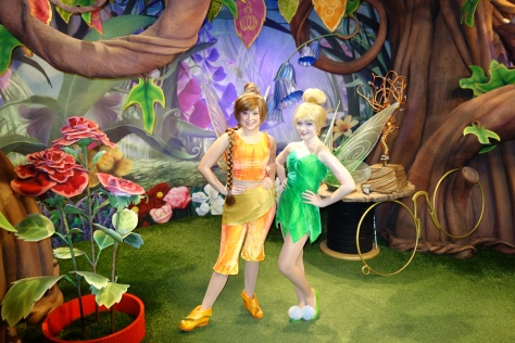 Tinker Bell met with Fawn on the left side of Tinker Bell's Nook.