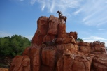 Big Thunder Mountain Railroad at the Magic Kingdom in Disney World
