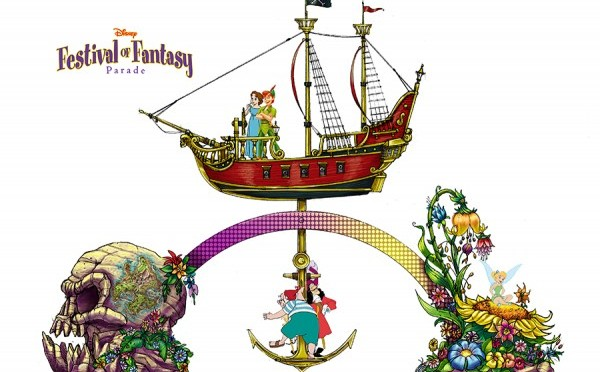 "Magic Kingdom to receive a new daytime parade called ""Festival of Fantasy"""