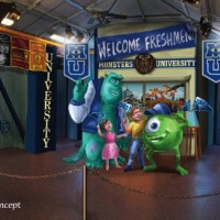 Monsters University meet and greet at Hollywood Studios
