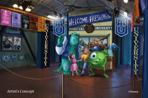 mike and sulley concept