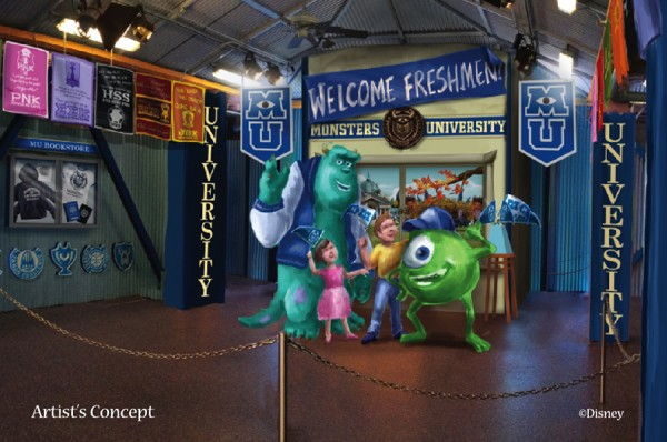 Attend a Monsters University Homecoming