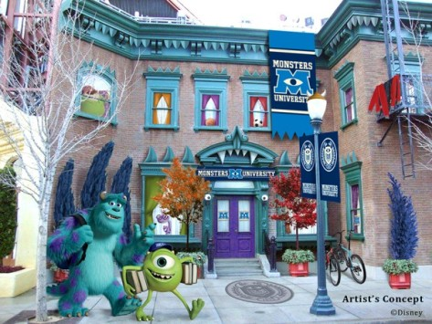 mike and sulley dca concept