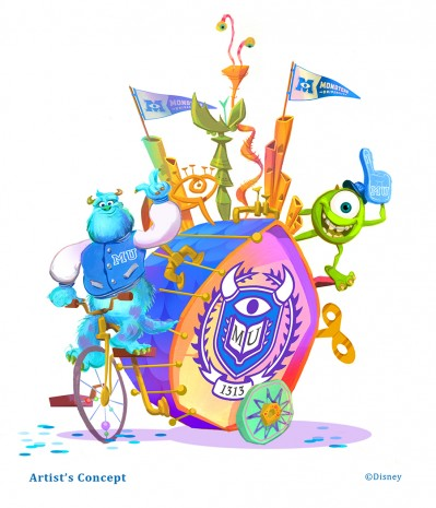 mike and sulley dca parade concept