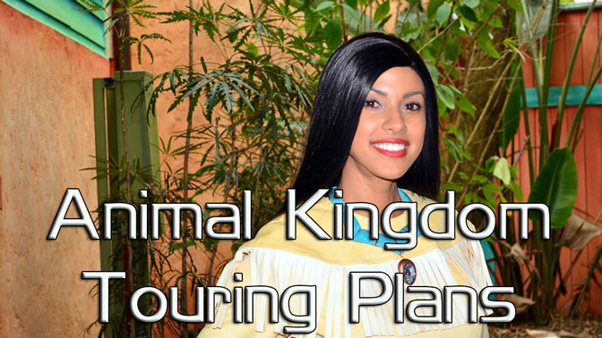 Free Animal Kingdom Touring Plans KennythePirate, EasyWDW Cheat Sheet, Disney World touringplans
