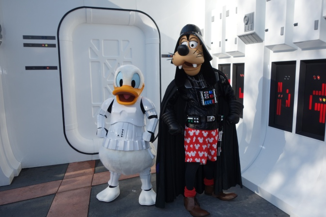 Meeting the Fab Four at Star Wars Weekends