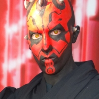 Meeting Darth Vader and Darth Maul at Star Wars Weekends
