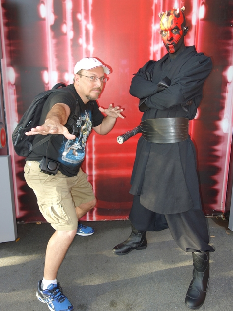 Darth Maul Star Wars Weekends 2013