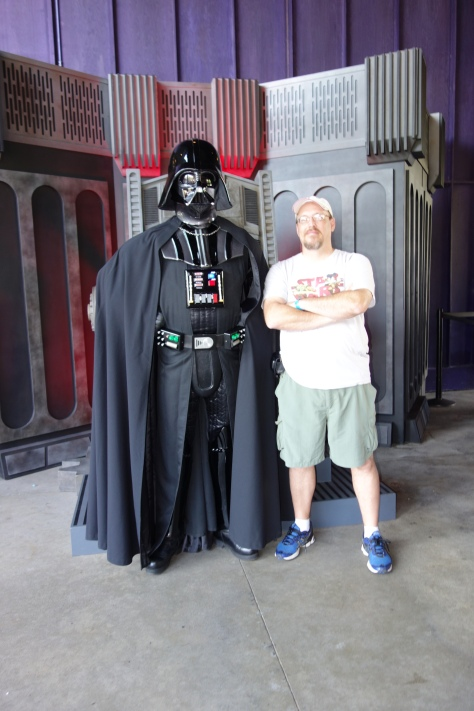 Darth Vader Star Wars Weekends 2013