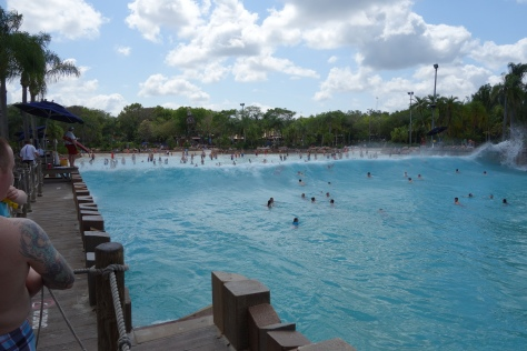 Wave Pool at Typhoon Lagoon at Walt Disney World