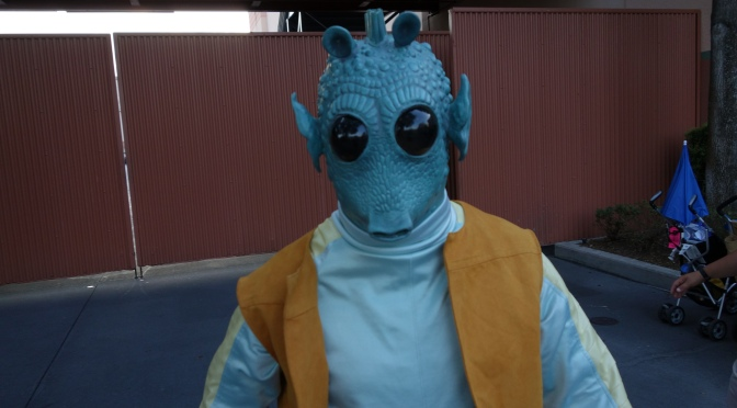 Greedo at Star Wars Weekends