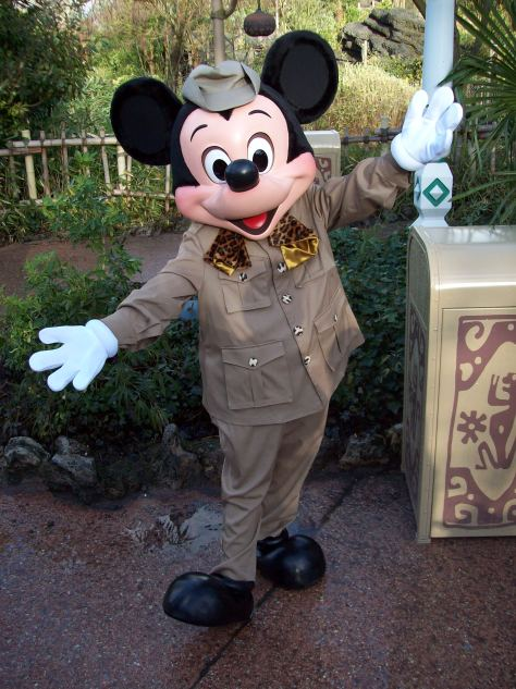Jungle Cruise Mickey Mouse at Disneyland Paris