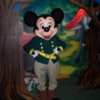 Worldwide Wednesday:  Forest Ranger Mickey Mouse