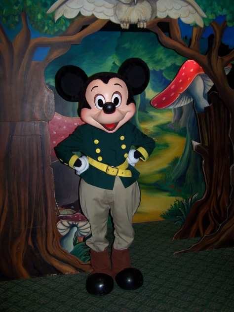 Mickey Mouse, Disneyland Paris