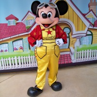Worldwide Wednesday - Filmstar Flyer Mickey Mouse