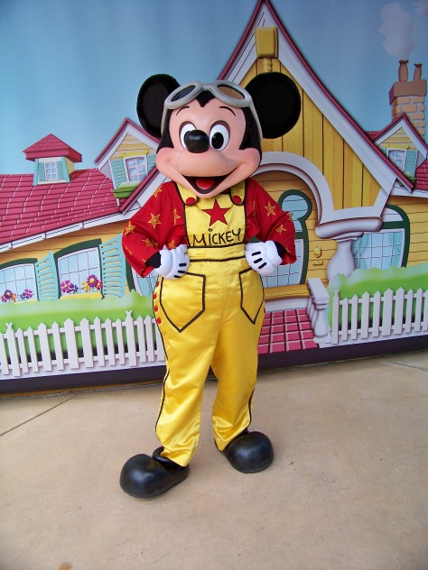 Disneyland Paris, Walt Disney Studios, Mickey Mouse, Meet and Greet
