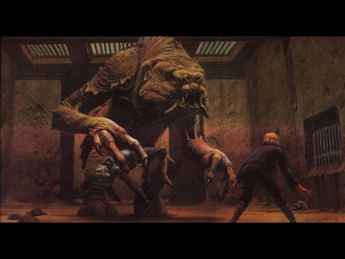 """""""Life-size"""" Rancor to appear for Star Wars Weekends"""
