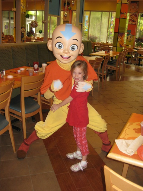 Aang - The Last Airbender Nick Hotel 2009