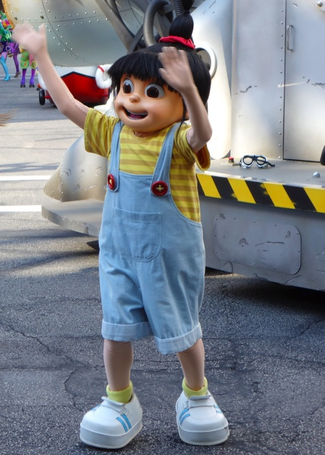 Agnes Universal Studios 2012 parade unit