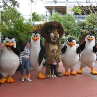Alex and Penguins from Madagascar