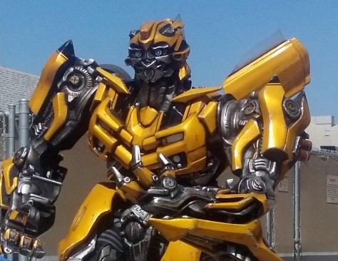 Bumblebee Transformers Universal Studios Hollywood 2012