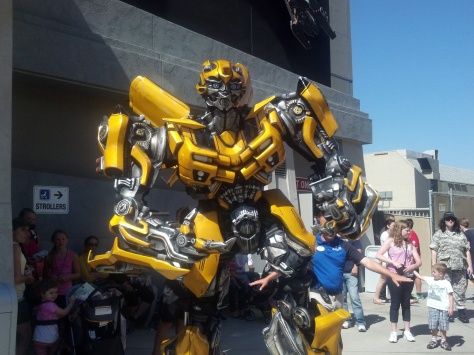 Bumblebee Transformers Universal Studios Hollywood 2012