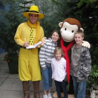 Man in the Yellow Hat with Curious George