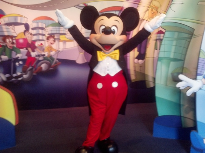The Newly Refurbished Epcot Character Spot opening Monday, June 3, 2013
