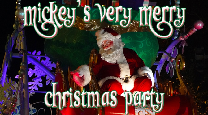 mickey's very merry christmas party guide