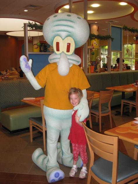 Squidward Nick Hotel 2009