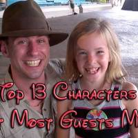 KennythePirate's top 13 Walt Disney World character opportunities that most guests miss