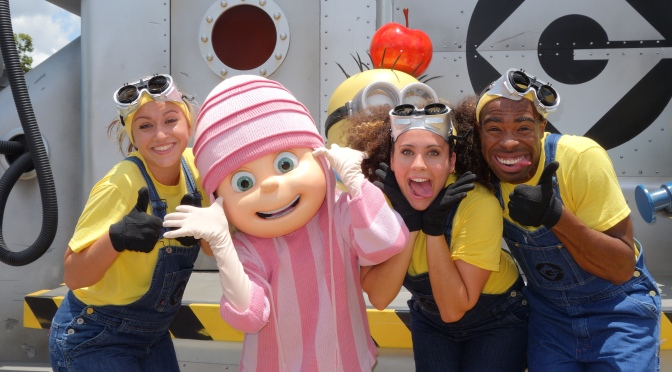 Universal Studios Orlando Despicable Me Edith Meet and Greet