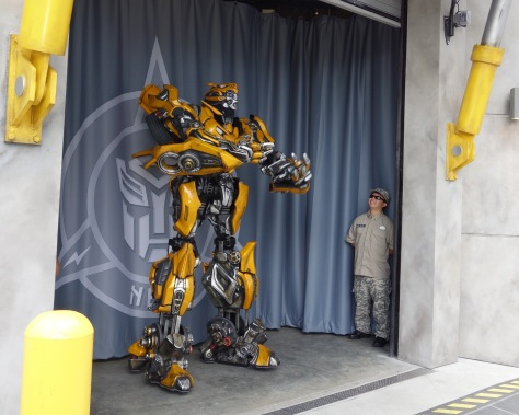 Bumblebee at Universal Studios Orlando June 2013