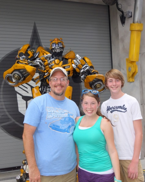 Bumblebee at Universal Studios Orlando June 2013