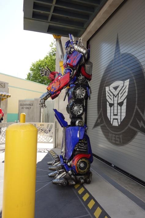 Universal Studios Orlando Transformers Optimus Prime Meet and Greet (4)