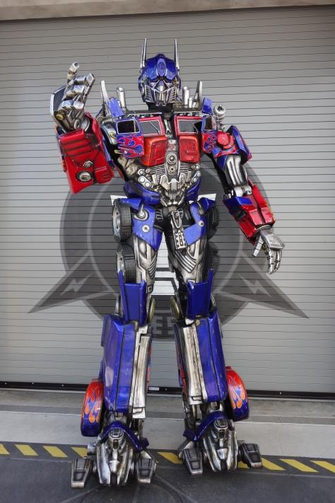 Universal Studios Orlando Transformers Optimus Prime Meet and Greet (5)