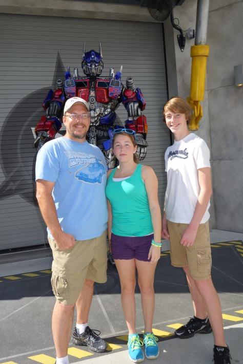 Universal Studios Orlando Transformers Optimus Prime Meet and Greet (6)