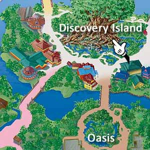 Walt Disney World, Animal Kingdom, Map, It's Tough to Be a Bug
